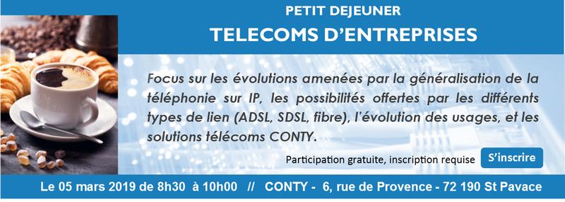 Information sur les telecoms d'entreprise
