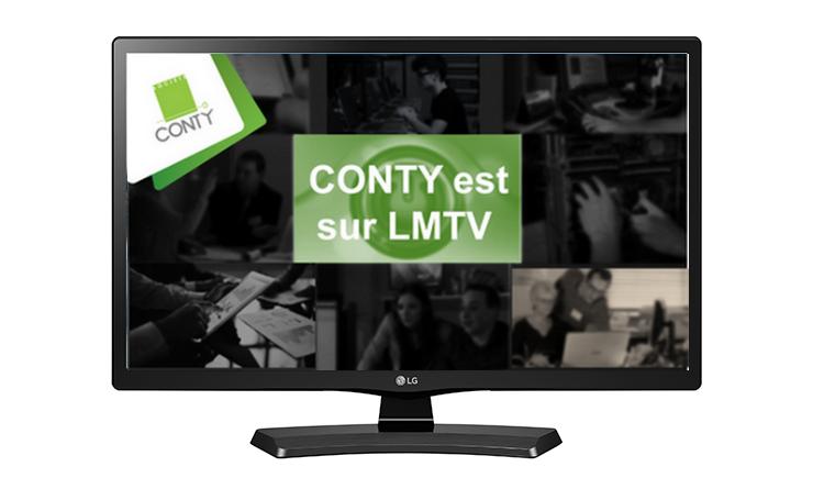 Le prestataire informatique entreprise CONTY fait l'objet d'une émission TV sur LMTV