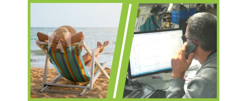 Le service hotline et dépannage informatique CONTY est assuré tout l'été.