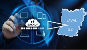 Solution de sauvegarde informatique Mayenne