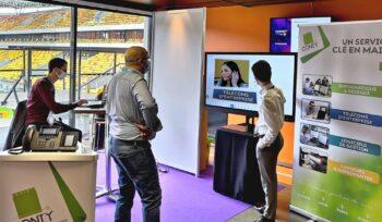 focus sur les télécoms entreprise sur le stand Conty au salon Connect