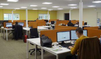 Réaménagement des locaux, pole technique informatique et Télécoms d'entreprise